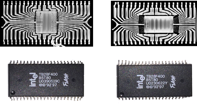 Which is the fake memory chip?