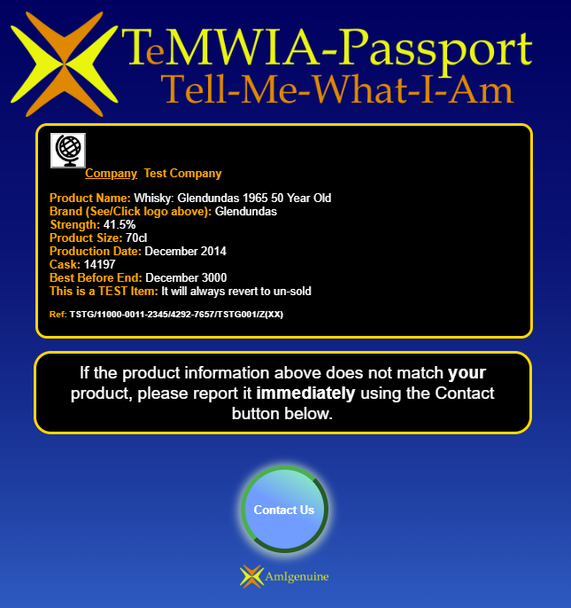 TeMWIA lookup page